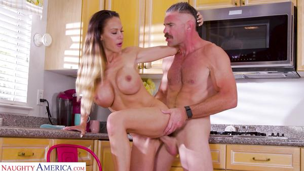Big Fake Boobs MILF McKenzie Lee Gets Fucked By Plumber imgrsc