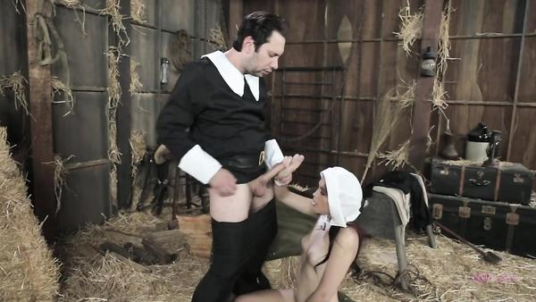 Chaste Amish woman Brooke Haze obtains fucked by her stepbrother letfap