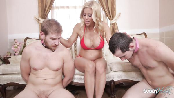 Headmistress Alexis Fawx controls her modest slaves xyutv
