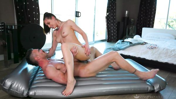 Fully grown Husband Fucks His Slim Stepdaughter Throughout Massage therapy beegcom