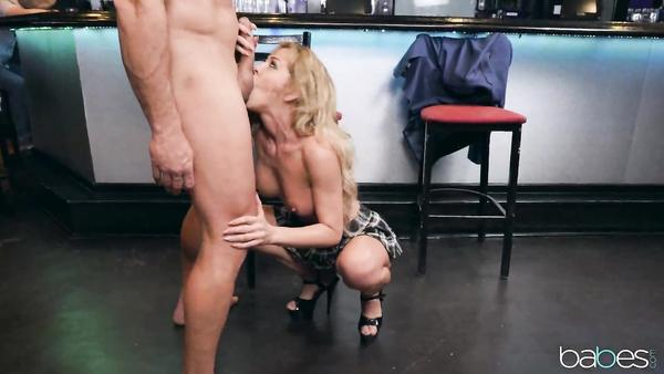 Real Gentleman Ramon Nomar And Hot Bartender Cherie Deville nubiles com