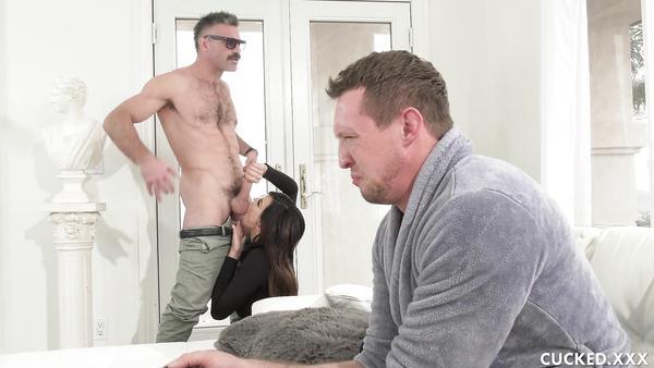 What the fuck!? Our Next-door neighbor Came To My Home And Also Fucked My Partner desiseen com
